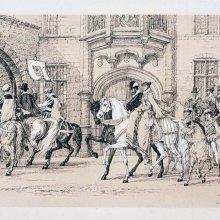 [Conmemoración de victoria en la ciudad de Amberes]. [1875]