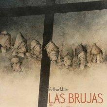 Las brujas de Salem. Cartel. 2007. Dibujo color. 70 x 50 cm. Colección Familia José Hernández © José Hernández. VEGAP, Madrid 2015