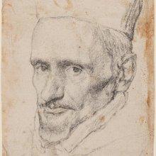 Retrato del cardenal Borja. Diego Velázquez