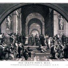 VOLPATO, Giovanni (1732-1803). [La Escuela de Atenas]. [1779?]