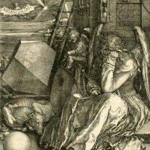 DÜRER, Albrecht (1471-1528). Melencolia I. 1514