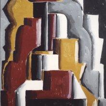 Joaquín Torres García (Uruguay) Formas abstractas ensambladas, 1937