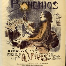 VIVES, Amadeo (1871-1932). Bohemios. [ca. 1904]