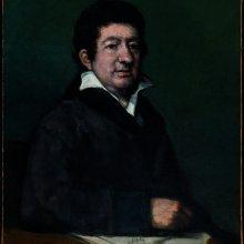 Retrato Moratín. Museo de Bellas Artes de Bilbao