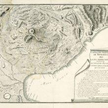 ETNA (Volcán). Mapa general. [ca 1770]