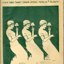 ALONSO, Francisco (1887-1948). Las corsarias. 1920