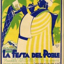 ALONSO, Francisco (1887-1948). La festa del poble. 1934