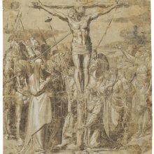 Pedro de Campaña, Crucifixion