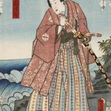 Kunisada. Koganosuke Kiyofune