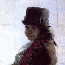 Autorretrato ante su caballete (1785 aprox.)