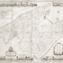 MALLORCA (Isla). Mapa general. 1784