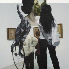 Sandra Gamarra (Perú) En orden de aparición, intento de autorretrato I, 2012