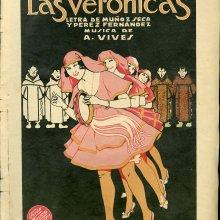 VIVES, Amadeo (1871-1932). Las verónicas. 1919
