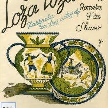 GUERRERO, Jacinto (1895-1951). Loza lozana. 1943