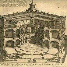 FALDA, Giovanni Battista (1648-1678). Nuovi Disegni dell'Architetture e Piante de Palazzi di Roma de piu Celebri Architetti: Libro Secondo. [anterior a 1678]