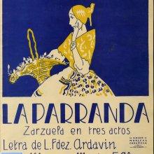 ALONSO, Francisco (1887-1948). La parranda. 1928
