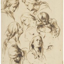 A del Castillo, Estudio de siete cabezas