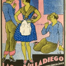 ALONSO, Francisco (1887-1948). Las de Villadiego. 1933