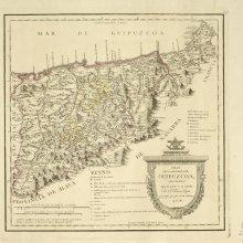 GUIPÚZCOA. Mapa general. [1818]