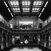 Patio Central, Exposición de Sorolla, 1909 ©The Hispanic Society of America, New York