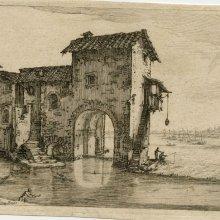 CALLOT, Jacques (1592-1635). [El molino en el agua]. [16--]