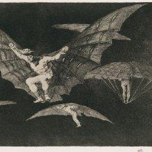 Aguatinta de Goya.