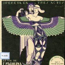 GUERRERO, Jacinto (1895-1951). El collar de Afrodita. 1925