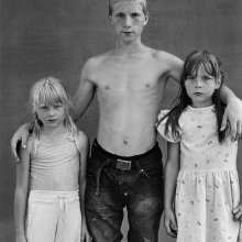 Māris Maskalāns, Schoolchildren: Rasma Svalbe (2002), Jānis Svalbe (1992) and Santa Svalbe (2001), 2010 © Māris Maskalāns