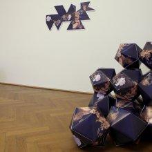 Sašo Sedlaček, GLOBE HEATERS & The World of Maps by Buckminster Fuller, 2010, installation view (foto archive MGLC)