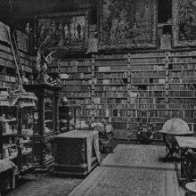 Biblioteca, Residencia de Archer Milton Huntington, Pleasance, Baychester, New York ©The Hispanic Society of America