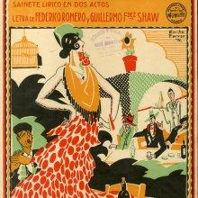 VIVES, Amadeo (1871-1932). Los flamencos. 1929