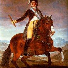 Retrato ecuestre de Fernando VII (1808)