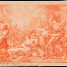 El rapto de las sabinas. Mariano Salvador Maella