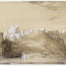 Toledo. Vista hacia San Juan de los Reyes