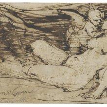 A. Cano, Venus, Cupido y satiro