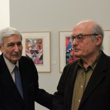 Inauguración exposición Luis Gordillo 04
