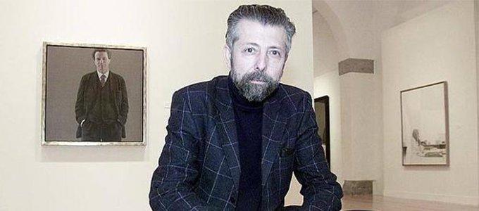 El pintor Hernán Cortés  ingresa en la Academia